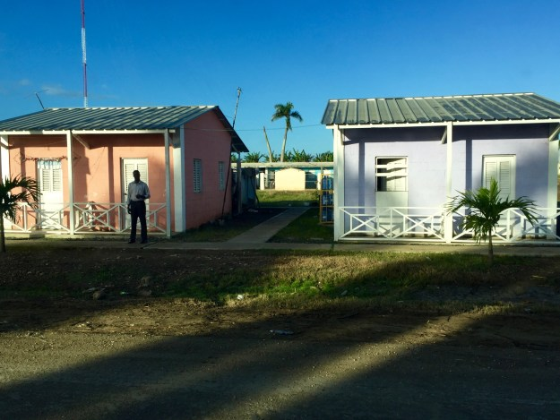 Duplexes for Haitian canefield workers