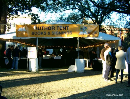 Savannah Book Festival Author Tent