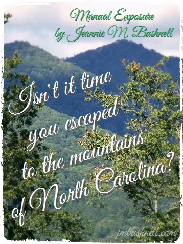 Escape to the mountains of North Carolina with Manual Exposure