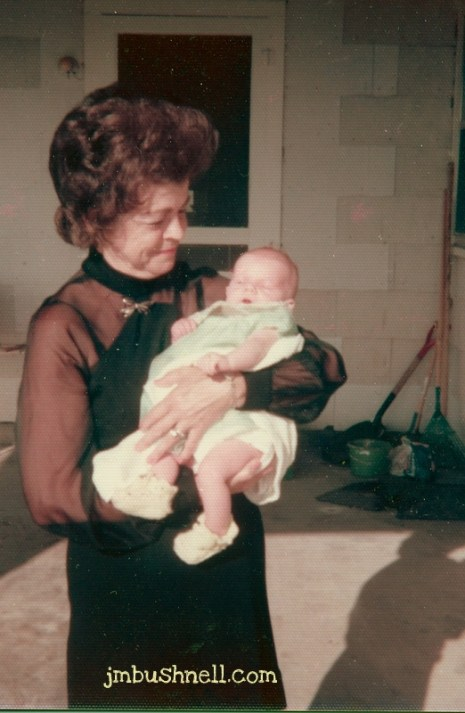 Jeannie Bushnell and Grandmother