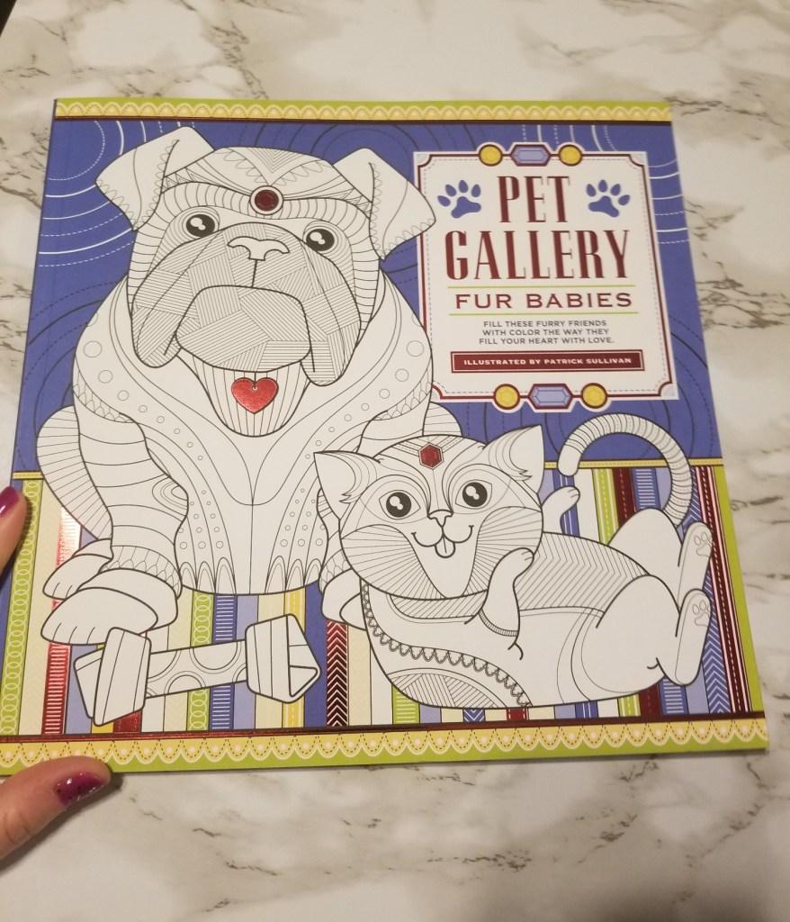 Pet Gallery Fur Babies Color Book