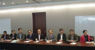 泛民昨召開閉門會議,討論上海行之安排。(陳景瑤攝)
