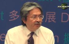 曾俊華表示,以往的預算案寫得差感到不好意思,以後會做好些。(資料圖片)