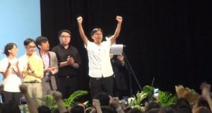 朱凱迪獲得84,121票,成為地區直選票王,首次晉身議會。(影片截圖)