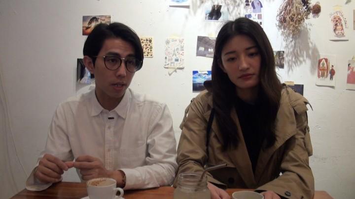 楊夏靖(Haze)、邢慧敏(Sharon)和另一位朋友,在2015年合伙創立Bucket,生產不鏽鋼飲管。(影片截圖)