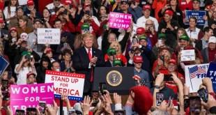 美國總統特朗普指選舉是「巨大的勝利」,他又希望兩黨能在基建、藥物價格、貿易和經濟增長方面合作。(特朗普官方Twitter圖片)