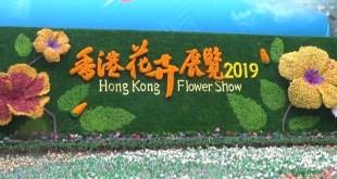 香港花卉展覽今日開始