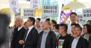 「佔中九子」案昨日於西九龍裁判法院裁決,9名被告均有罪名成立。(戴裕庭攝)