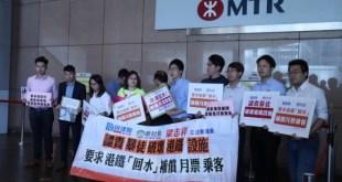 立法會議員梁志祥譴責示威者破壞港鐵設施,指影響港鐵日常服務,為乘客帶來不便。(關海儀攝)