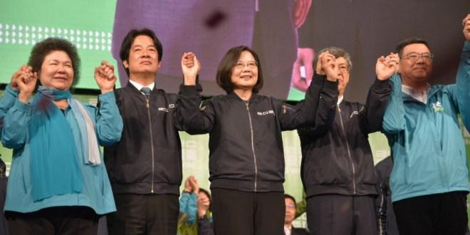 【2020台灣大選】蔡英文連任總統 得票創歷史新高
