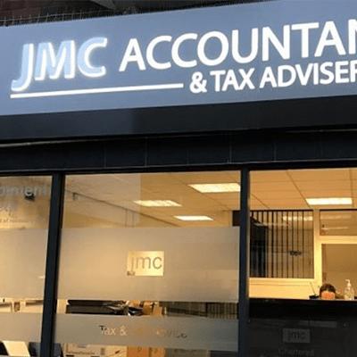 JMC Accountants front of office