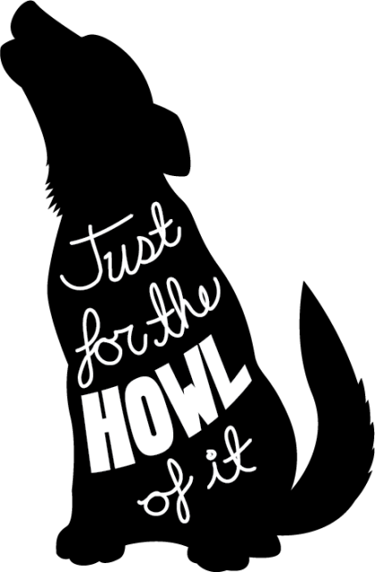 Just for the Howl of It final logo