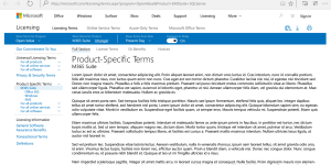 Product Terms Viewer