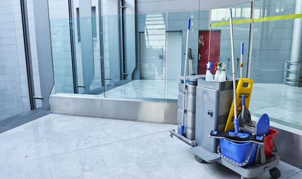 commercial-cleaning J & M Cleaning Team