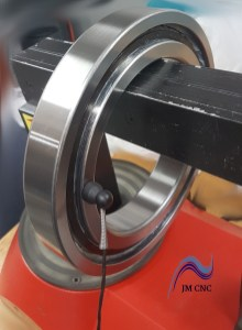 Second bearing front part