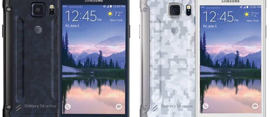 Galaxy S6 Active leaked shot (via evleaks)