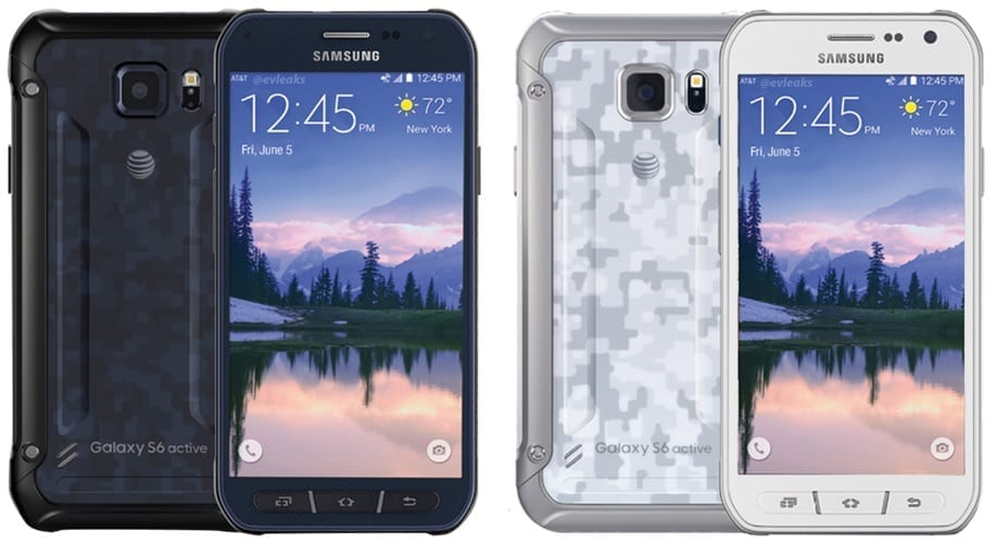 Galaxy S6 Active leaked shot (via evleaks)
