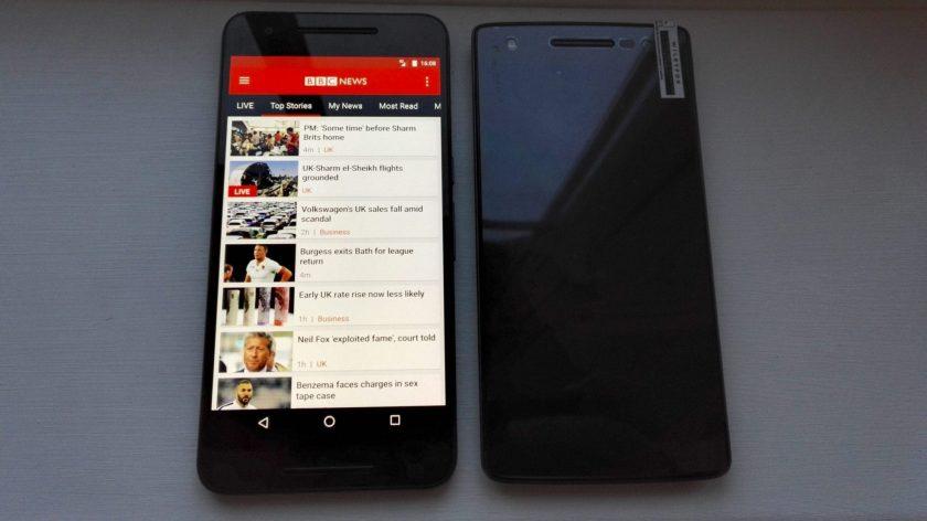 Nexus 6P and Wileyfox Storm