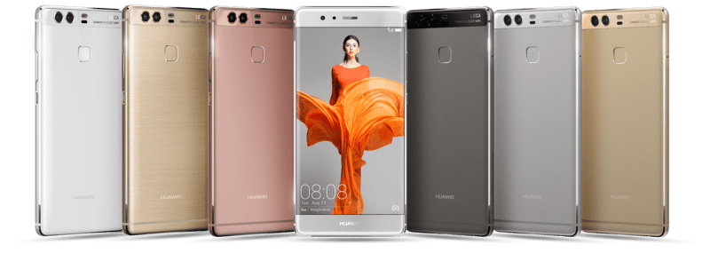 Huawei P9 all colours
