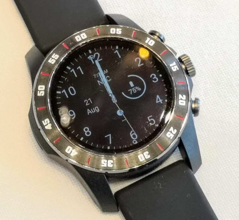 Reference design watch in ultra low power mode