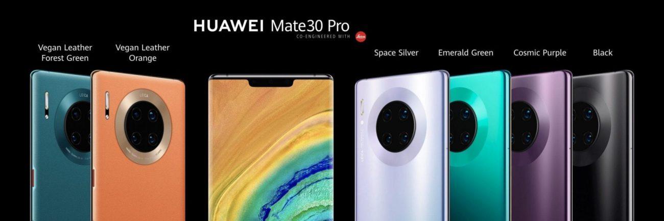 Mate 30 Pro range