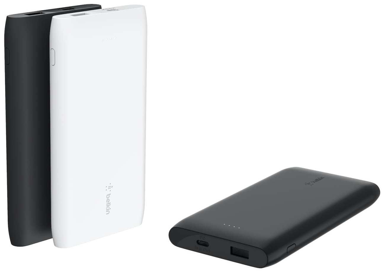 10,000 or 20,000mAh USB-C power bank