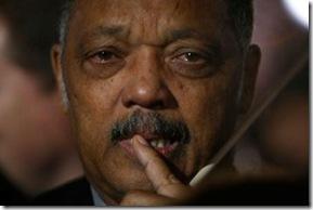 Rev. Jesse Jackson Sheds Tears on Election Night at Grant Park, Chicago