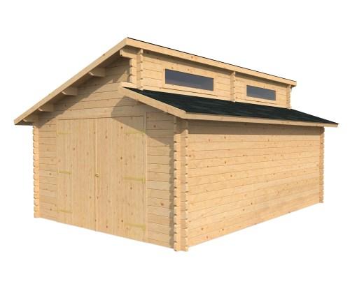 Garage Log Cabins