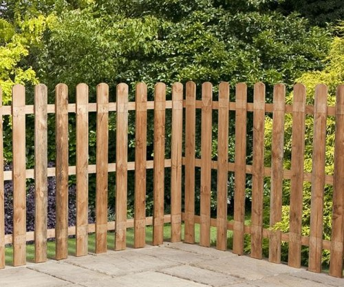 Picket Garden Fence Panels
