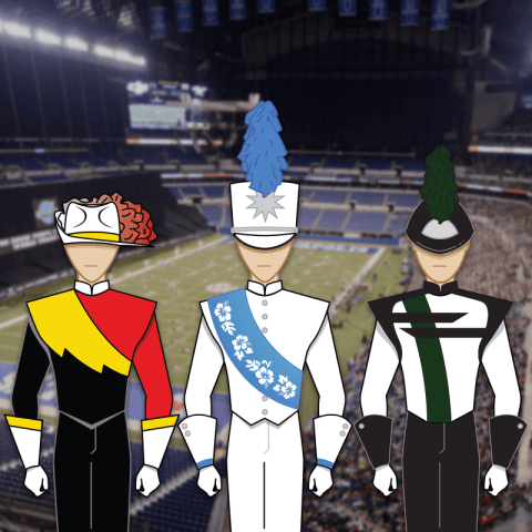 Drum Corps Uniforms