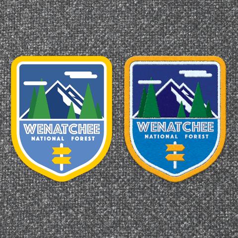 Wenatchee National Forest Logo Concept
