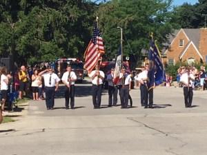2017 July Swisher Fun Days Parade