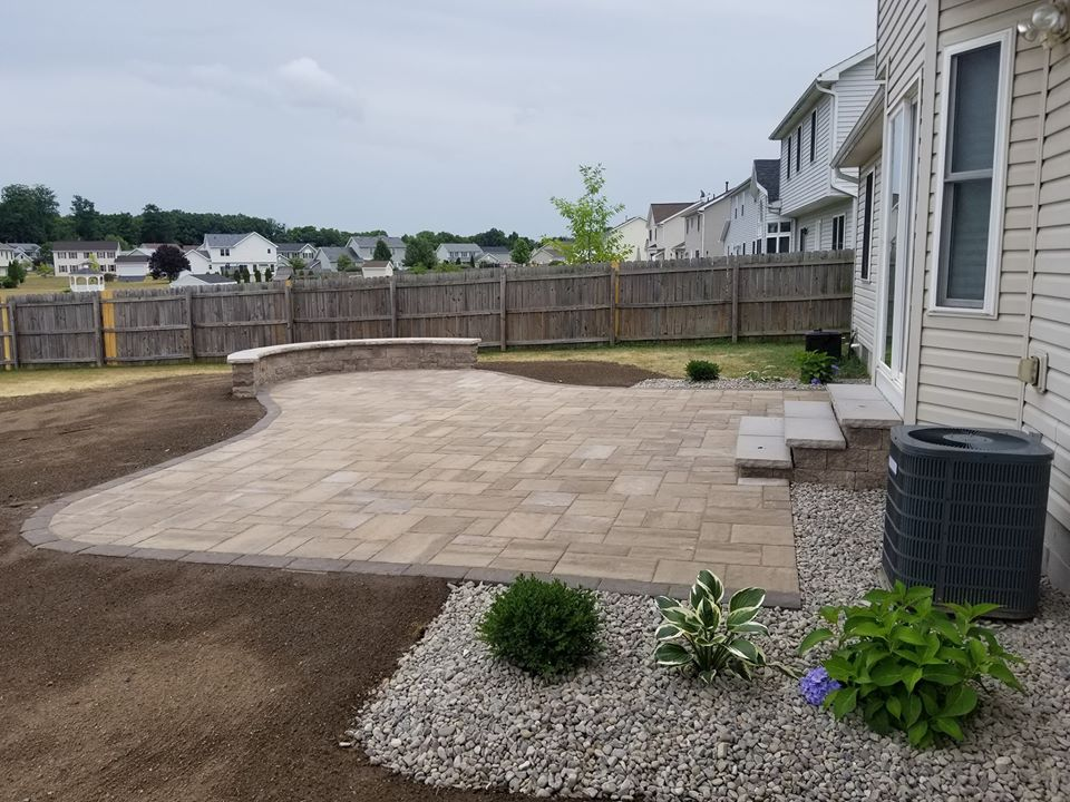 paver patios retaining walls jmf