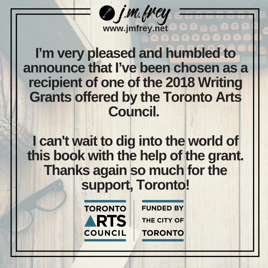 ANNOUNCEMENT – Toronto Arts Council Grant