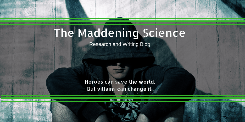 The Maddening Science – New Writing Process Blog