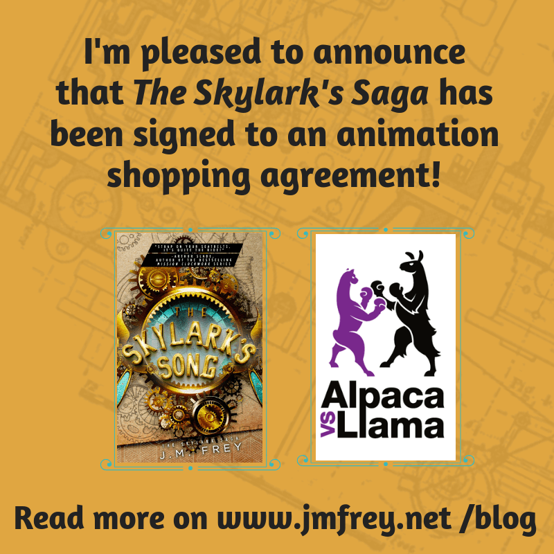 "ANNOUNCEMENT – ""The Skylark's Saga"" has been picked up!"