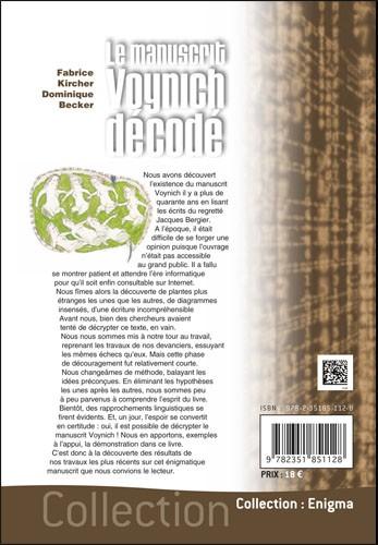 Le manuscrit Voynich décodé