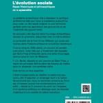 L'évolution sociale