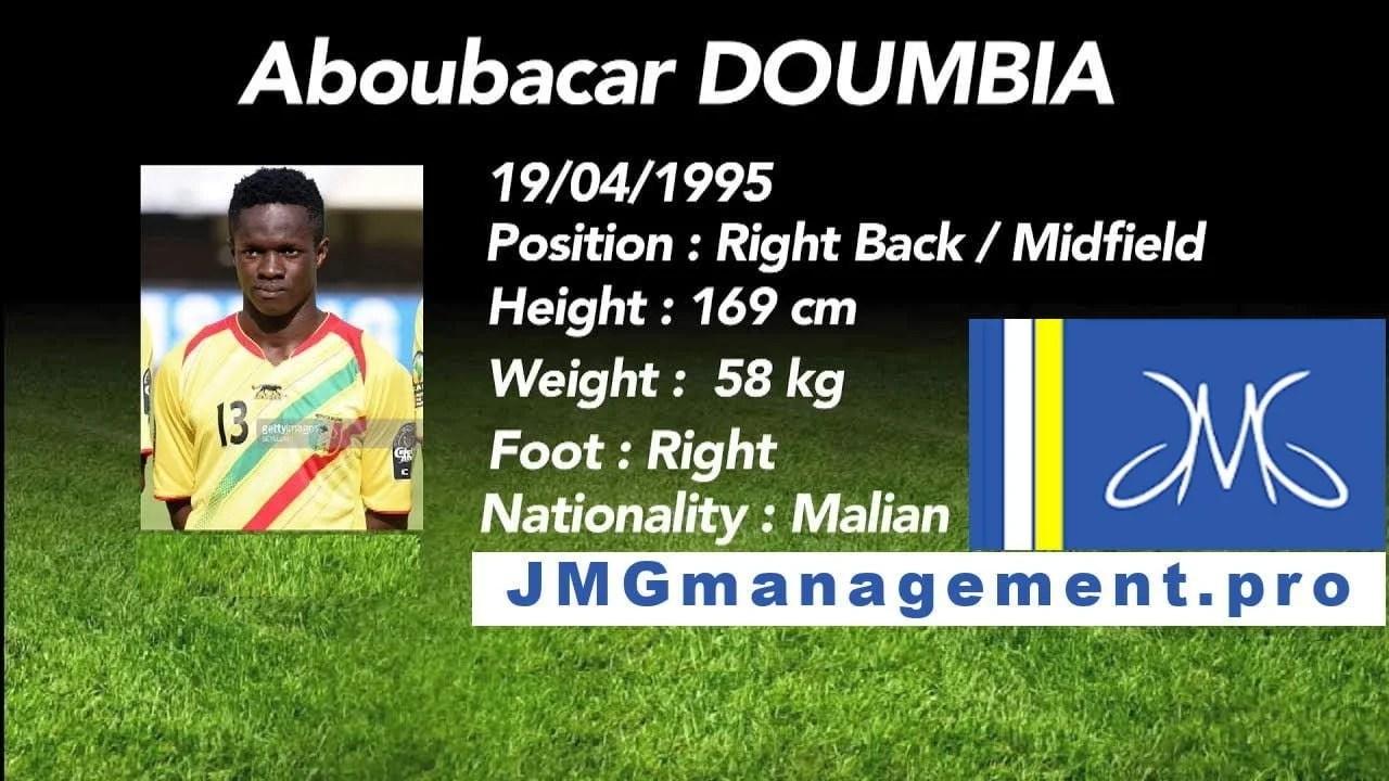 Aboubacar Doumbia jmg soccer academy mali