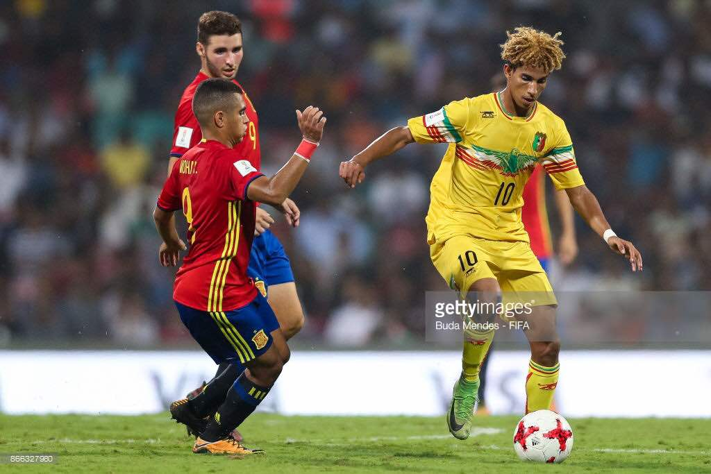 SALAM IN NOMINATION FOR BEST YOUNG AFRICAN PLAYER OF THE YEAR mali jmg academy
