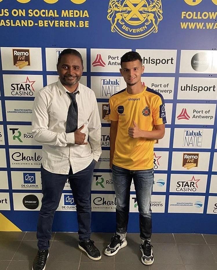 Amine Khammas formé par les académies jmg signe avec Beveren