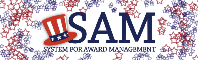 NEW Government System Award Management (SAM)