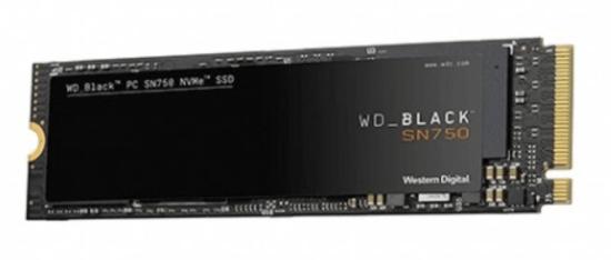 DISCO DURO M2 SSD 500GB PCIE3 WD BLACK SN750 NVME