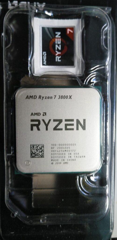 4-Procesador AMD AM4 Ryzen 7 3800X 8x4.5GHz : 36MB Box