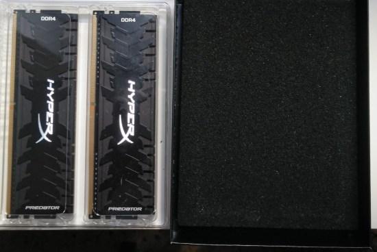 7-MODULO MEMORIA RAM DDR4 8GB PC3200 KINGSTON HYPERX FURY