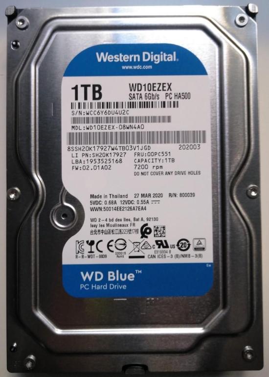 8-DISCO DURO 3.5 1TB SATA3 WD 64MB DESKTOP BLUE