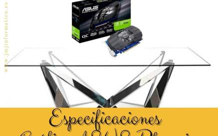 Especificaciones Grfica ASUS Phoenix GT 1030 O2G