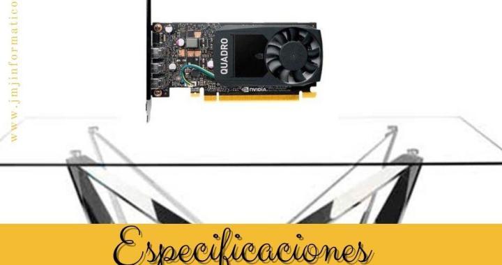 Especificaciones Grfica PNY Quadro P400 2Gb Gddr5 DP V2