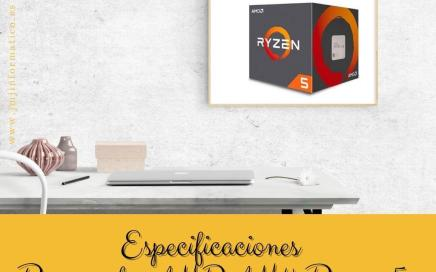 Especificaciones Procesador AMD AM4 Ryzen 5 2600 6 x 3.4Ghz 19MB
