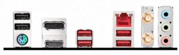 PLACA BASE MSI AM4 B450I GAMING PLUS AC conexiones